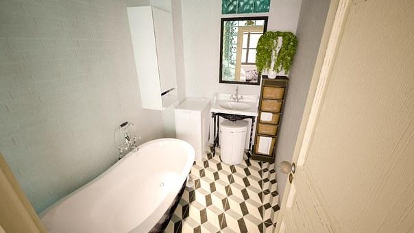 Mała łazienka też może być stylowa